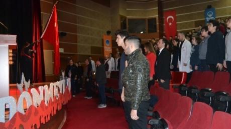 18 Mart Çanakkale Şehitlerini ve İstiklal Marşımızın yazarı Mehmet Akif Ersoy'u Anma Töreni gerçekleşti