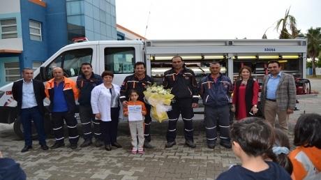 Adana Okyanus Kolejinde 'Sivil Savunma' Günü Kutlandı