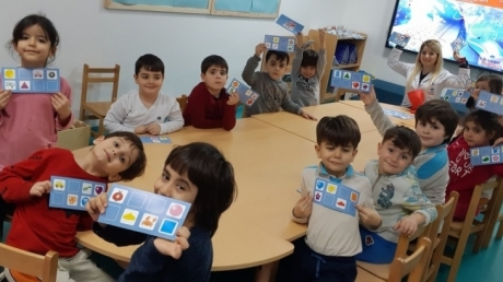 Adana Okyanus Koleji Okul Öncesi Yıldızlar Grubu Oyun Etkinliğinde