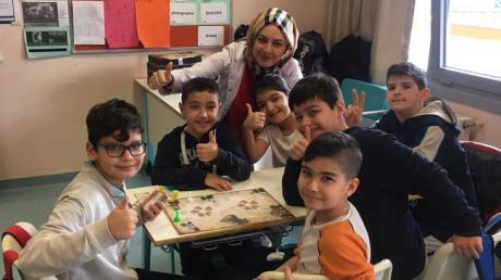 Ataşehir İlkokulda Ortaokul Sosyal Bilgiler Dersi Heyecanı