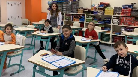 Ataşehir Okul Öncesi Bulutlar Grubu İlkokul Okuma-Yazmaya Hazırlık Etkinliğinde