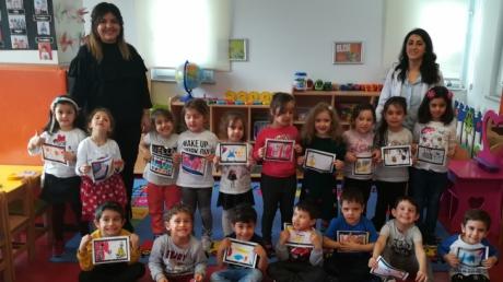 Ataşehir Okul Öncesi Deniz Yıldızı Grubu Sosyal Beceriler Dersinde
