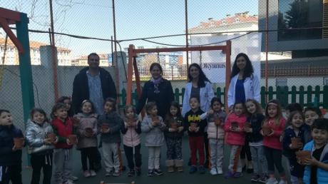 Ataşehir Okul Öncesi Deniz Yıldızı Grubu Veli Katılım Etkinliğinde,