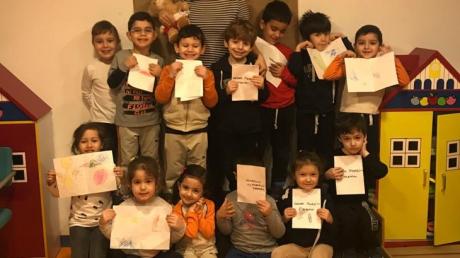 Ataşehir Okul Öncesi İnciler Grubu Drama Dersinde