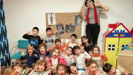 Ataşehir Okul Öncesi Yıldızlar Grubu Drama Dersinde