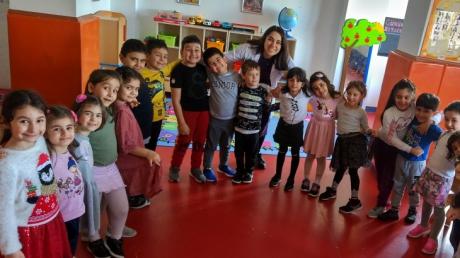 Ataşehir Okul Öncesi Yıldızlar Grubu Sosyal Beceri Etkinliğinde