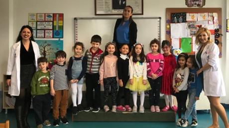 Ataşehir Okulöncesi Gezegenler Grubu Aile Katılım Etkinliğinde
