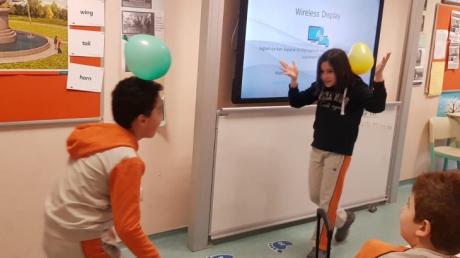 Ataşehir Okyanus İlkokul'da Ortaokul Fen Bilgisi Dersi Heyecanı