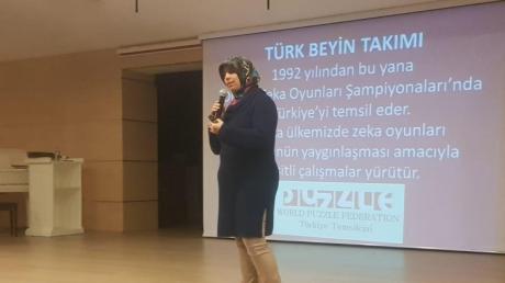 Ataşehir Ortaokul'da Türk Beyin Takımı Heyecanı