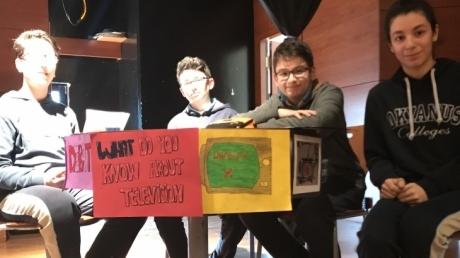 7. Sınıf Öğrencileri arasında İngilizce münazara yarışması olan 'Debate' yapıldı.