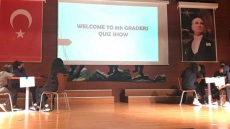Avcılar Okyanus Koleji 8. Sınıf Öğrencileri arasında Quiz Show yarışması yapıldı