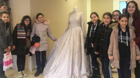 Avcılar Okyanus Koleji ortaokul 5.sınıf öğrencileri bu hafta  'Moda Tasarımı' gezisindeydi..