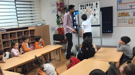 Bahçelievler Okul Öncesi Yıldızlar Grubu Satranç Eğitiminde