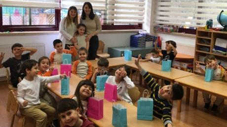 Bahçelievler Okul Öncesi Yıldızlar Grubu Aile Katılım Etkinliğinde