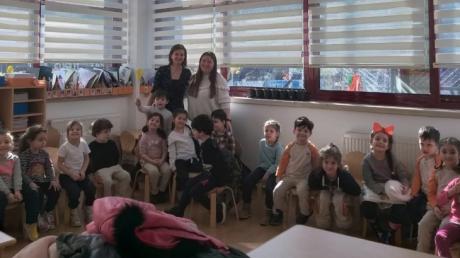Bahçelievler Okyanus Koleji Okul Öncesi Deniz Yıldızı Grubu Aile Katılımı Etkinliğinde