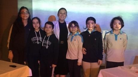 Bahçelievler Okyanus Koleji Ortaokul Kademesi 6. Sınıflar İngilizce Bilgi Yarışması Etkinliği