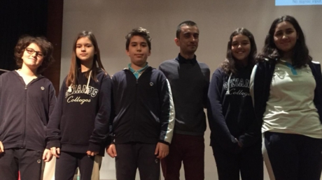 Bahçelievler Okyanus Koleji Ortaokul Kademesi 7. Sınıflar İngilizce Münazara Etkinliği - Yarı Final Müsabakası