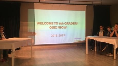Bahçelievler Okyanus Koleji Ortaokul Kademesi 8. Sınıflar İngilizce Bilgi Yarışması Etkinliği