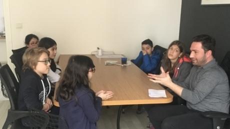 Bahçelievler Okyanus Ortaokulu Gelecekte Bir Gün Meslekte İlk Gün Projesi Meslek Ziyareti - Mimar