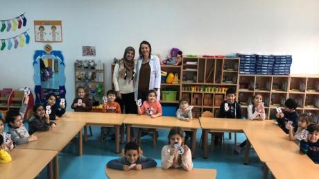 Bahçeşehir Deniz Yıldızı Grubu Aile Katılımı Etkinliğinde