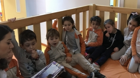 Bahçeşehir Denizyıldızı  Grubu Türkçe Dil Etkinliğinde