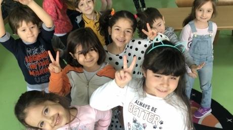 Bahçeşehir Gökkuşağı Grubu Sosyal Beceri Etkinliğinde