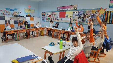 """Bahçeşehir Üstün Zekâlılar ve Yetenekliler Okulu 4-E Sınıfı Öğrencileri """"Yaratıcı Sorun Çözme"""" Etkinliğinde"""