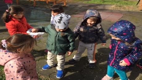 Bahçeşehir Yağmurlar Grubu Türkçe Dil Etkinliğinde