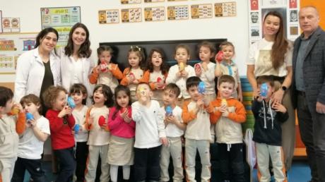 Bayrampaşa Okyanus Koleji Okul Öncesi Deniz Yıldızı Grubu Öğrencileri Aile Katılım Etkinliğinde