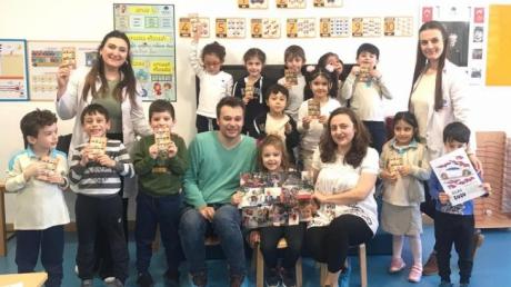 Bayrampaşa Okyanus Koleji Okul Öncesi Güneş Grubu Öğrencileri Aile Katılımı Etkinliği