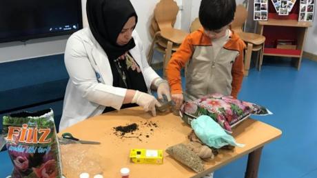 Bayrampaşa Okyanus Koleji Okul Öncesi Yunuslar Grubu Bütünleştirilmiş Etkinlikte