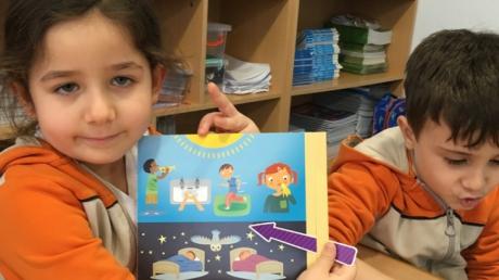 Bayrampaşa Okyanus Koleji Yunuslar Grubu İngilizce Dersinde Uzay Konusunu Pekiştiriyor
