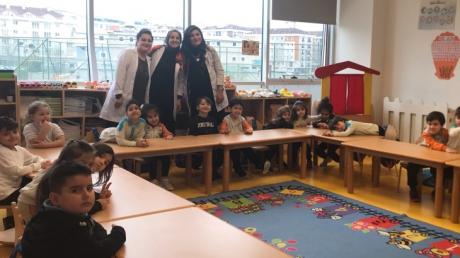 Beykent Okul Öncesi Balıklar Grubu Aile Katılımı Etkinliğinde
