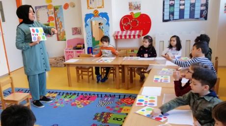Beykent Okul Öncesi Güneş Grubu Aile Katılımı Etkinliğinde
