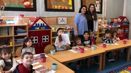 Beykent  Okyanus Koleji Okul Öncesi Çiçekler Grubu Aile Katılımı Etkinliğinde