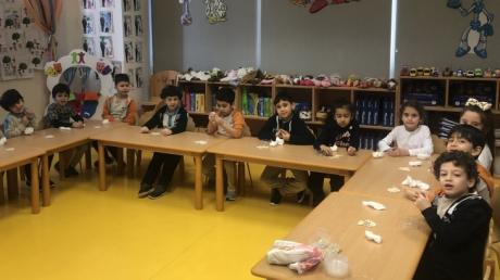 Beykent Okyanus Koleji Okul Öncesi Gökkuşağı Grubu Bitkiler Proje Konusunu Öğreniyor