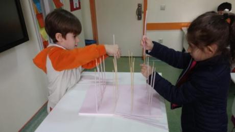 Beylikdüzü Okul Öncesi Güneş Grubu İlkokula Hazırlık Dersinde