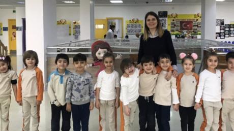 Beylikdüzü Okul Öncesi İnciler Grubu Aile Katılımı Etkinliğinde