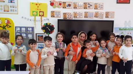 Beylikdüzü   Okul Öncesi  Mercanlar  Grubu  Aile Katılım Etkinliğinde