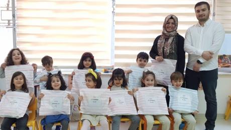 Beylikdüzü Okul Öncesi Yunuslar Grubu Aile Katılımı Etkinliğinde