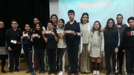 Beylikdüzü Okyanus Ortaokulu 6. Sınıflar Arası Quiz Show (İngilizce Bilgi Yarışması)