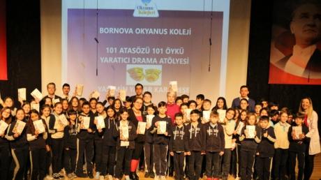 Bornova Okyanus Koleji Ortaokul Kademesinde 101 Atasözü 101 Öykü Yaratıcı Drama Atölyesi Gerçekleşti