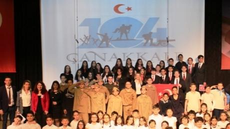 Bornova Okyanus Kolejinde 18 Mart Çanakkale Zaferi ve Şehitleri Anma Günü Gururla ve Minnetle Kutlandı.
