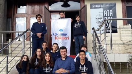 Bornova Okyanus Ortaokulu 8.Sınıf Öğrencileri 'Ata Anı Evi' Gezisinde