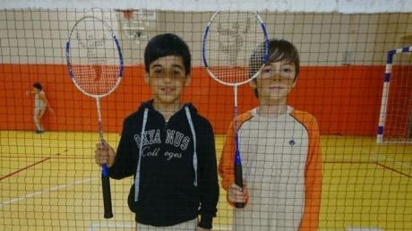 Çekmeköy Okyanus Kolejinde Badminton Turnuvası