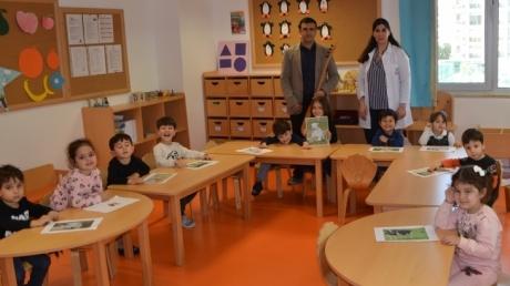 Çiçekler Sınıfı Aile Katılımı Etkinliğinde