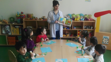 Eryaman Okyanus Koleji Okul Öncesi Yağmur Grubu Öğrencileri İngilizce Dersinde Bitki Yetiştirmeyi Öğrendiler