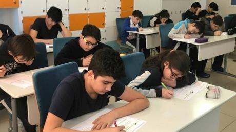 """Eryaman Okyanus Koleji Ortaokul Kademesi'nde; """"3.Ulusal Tales Matematik Yarışması"""" Heyecanı"""
