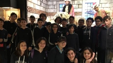 Fatih Okyanus Koleji 7.Sınıf öğrencileri Canlı Tarih Müzesinde