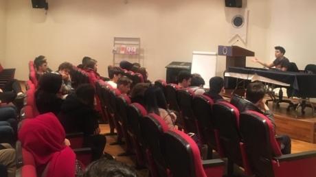 Fatih Okyanus Koleji Mühendislik ve Mimarlık Kariyer Kulübü Öğrencileri Yıldız Teknik Üniversitesi Bölüm Tanıtımı Etkinliğinde